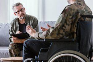 Veteran on psychotherapy